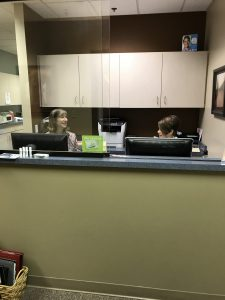 Stummer Dental front desk