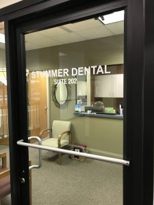 Stummer Dental front door